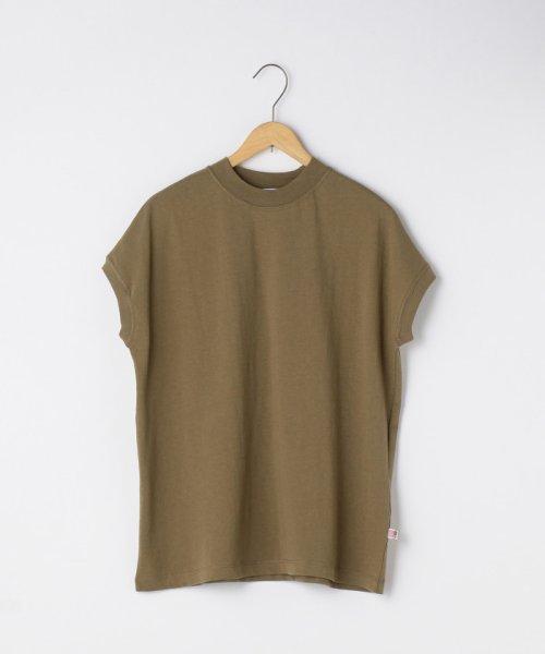 coen(コーエン)/【WEB限定カラーに新色ブラウン登場】USAコットンハイネックTシャツ/76256009019_img49