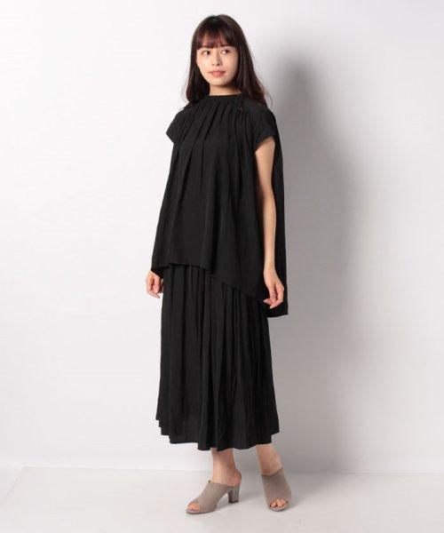 Bou Jeloud(ブージュルード)/【セットアップ対応商品】気流染めマットサテンスカート/593974_img19
