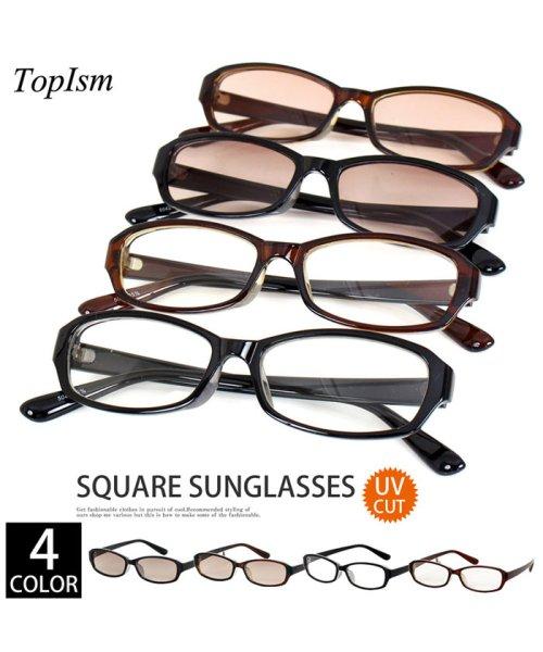 TopIsm(トップイズム)/スクエア型サングラス/22_img01