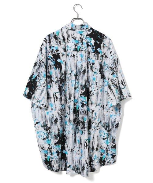 JUNRed(ジュンレッド)/【WEARISTA JUNコラボ】総柄ビッグシャツ/ANG69110_img05