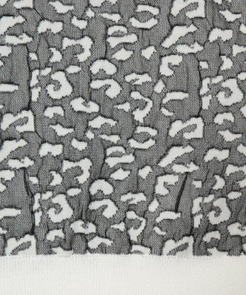 SCOTCLUB(スコットクラブ)/FENNEL(フェンネル) レオパードハーフスリーブニット/151152721_img09
