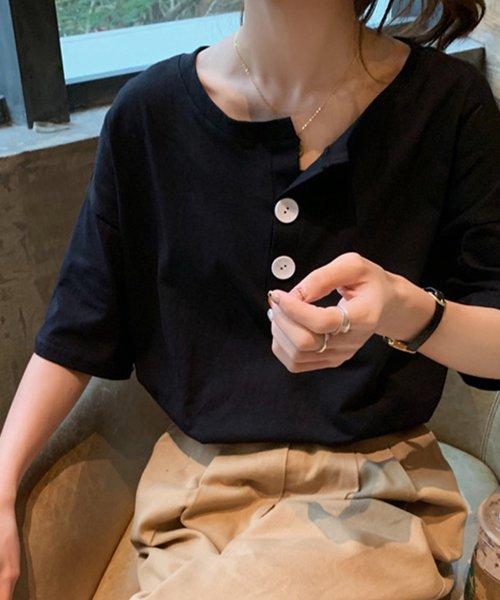 felt maglietta(フェルトマリエッタ)/パンツもスカートにも相性抜群!!ゆる Tシャツ トップス 夏 大きいサイズ/am226_img04