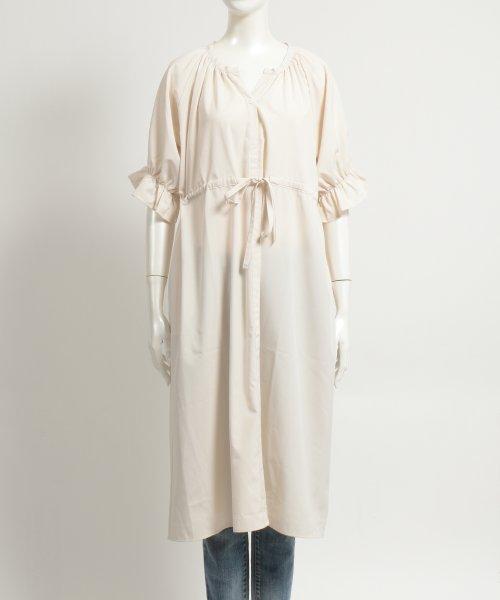 felt maglietta(フェルトマリエッタ)/一枚でお洒落シルエットが綺麗なギャザーワンピース/ワンピース/韓国ファッション/春/夏/am227_img01