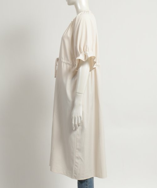 felt maglietta(フェルトマリエッタ)/一枚でお洒落シルエットが綺麗なギャザーワンピース/ワンピース/韓国ファッション/春/夏/am227_img02