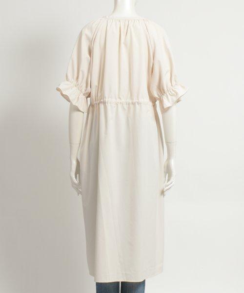 felt maglietta(フェルトマリエッタ)/一枚でお洒落シルエットが綺麗なギャザーワンピース/ワンピース/韓国ファッション/春/夏/am227_img03