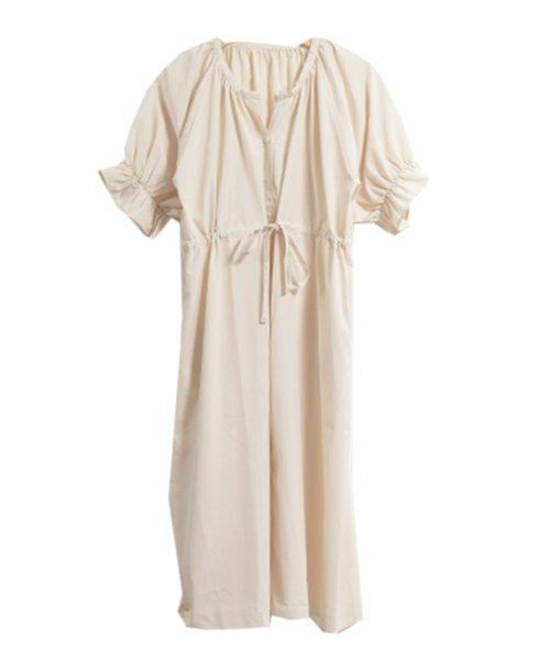 felt maglietta(フェルトマリエッタ)/一枚でお洒落シルエットが綺麗なギャザーワンピース/ワンピース/韓国ファッション/春/夏/am227_img06