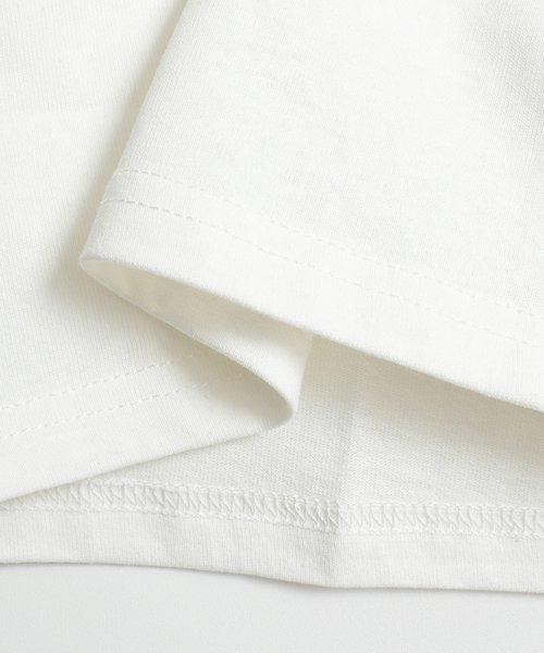 felt maglietta(フェルトマリエッタ)/フロントとバックの切り替えデザインでカジュアルなスタイリングに取り入れたトップス !!フットボール  Tシャツ/am235_img17