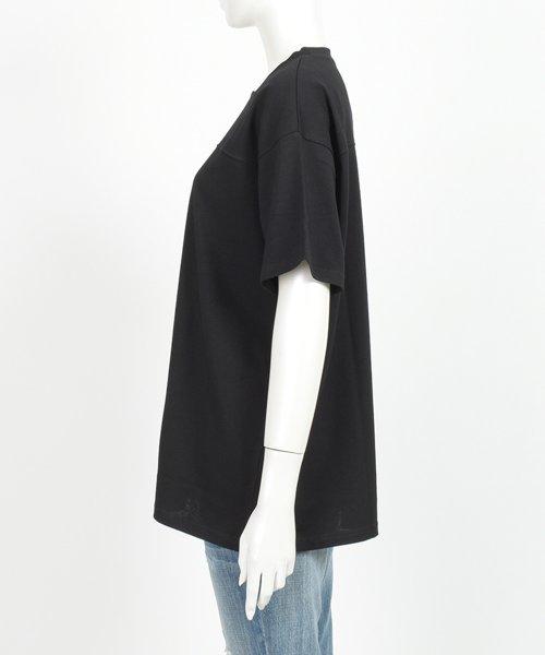 felt maglietta(フェルトマリエッタ)/フロントとバックの切り替えデザインでカジュアルなスタイリングに取り入れたトップス !!フットボール  Tシャツ/am235_img18