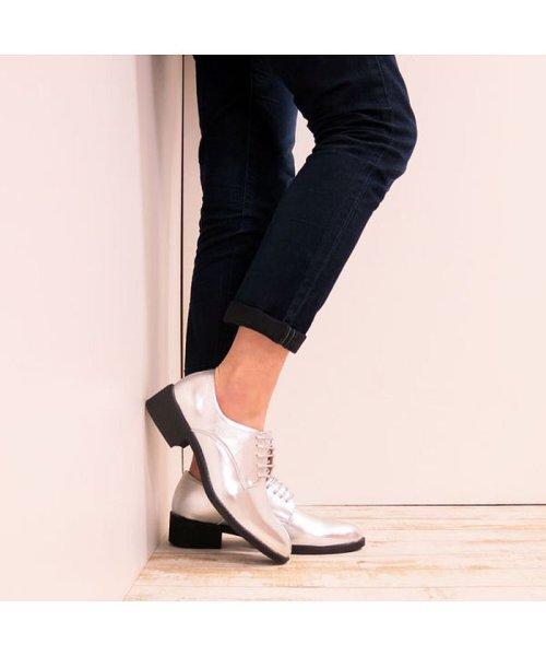FOOT PLACE(フットプレイス)/レディース ローファー マニッシュ オックスフォード MS-5433/MS-5433-SS_img79