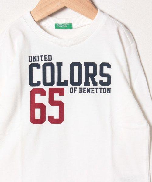 BENETTON (UNITED COLORS OF BENETTON BOYS)(ユナイテッド カラーズ オブ ベネトン ボーイズ)/ベーシックロゴプリントTシャツ・カットソー/19A3YR3C14A7_img04