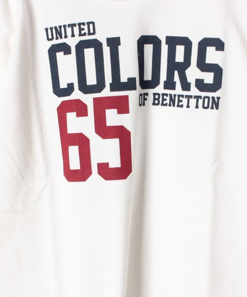 BENETTON (UNITED COLORS OF BENETTON BOYS)(ユナイテッド カラーズ オブ ベネトン ボーイズ)/ベーシックロゴプリントTシャツ・カットソー/19A3YR3C14A7_img05