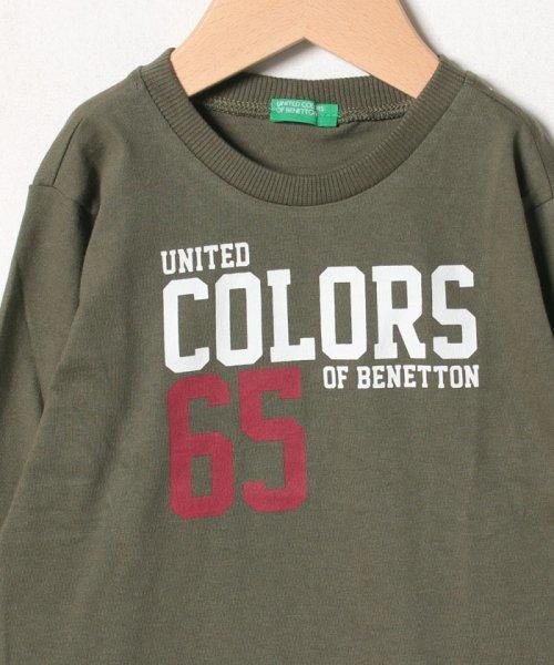 BENETTON (UNITED COLORS OF BENETTON BOYS)(ユナイテッド カラーズ オブ ベネトン ボーイズ)/ベーシックロゴプリントTシャツ・カットソー/19A3YR3C14A7_img09