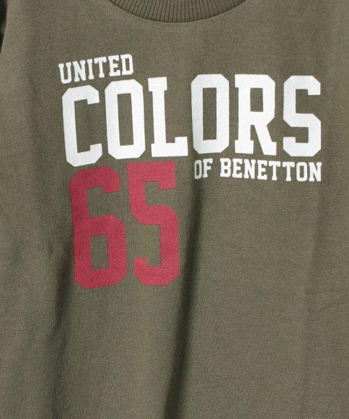 BENETTON (UNITED COLORS OF BENETTON BOYS)(ユナイテッド カラーズ オブ ベネトン ボーイズ)/ベーシックロゴプリントTシャツ・カットソー/19A3YR3C14A7_img10