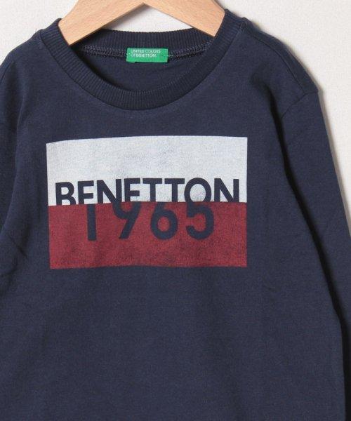 BENETTON (UNITED COLORS OF BENETTON BOYS)(ユナイテッド カラーズ オブ ベネトン ボーイズ)/ベーシックロゴプリントTシャツ・カットソー/19A3YR3C14A7_img14