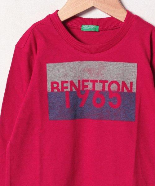 BENETTON (UNITED COLORS OF BENETTON BOYS)(ユナイテッド カラーズ オブ ベネトン ボーイズ)/ベーシックロゴプリントTシャツ・カットソー/19A3YR3C14A7_img19