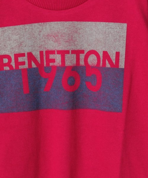 BENETTON (UNITED COLORS OF BENETTON BOYS)(ユナイテッド カラーズ オブ ベネトン ボーイズ)/ベーシックロゴプリントTシャツ・カットソー/19A3YR3C14A7_img20