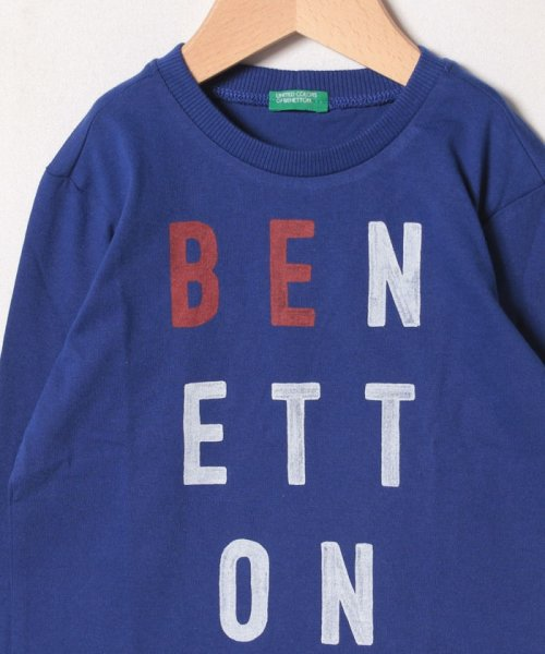 BENETTON (UNITED COLORS OF BENETTON BOYS)(ユナイテッド カラーズ オブ ベネトン ボーイズ)/ベーシックロゴプリントTシャツ・カットソー/19A3YR3C14A7_img24