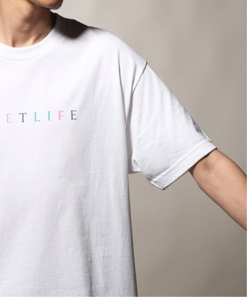 JOURNAL STANDARD relume Men's(ジャーナルスタンダード レリューム メンズ)/THE QUIET LIFE ザ クワイエットライフ  RAINBOW  Tシャツ/19071465010230_img07
