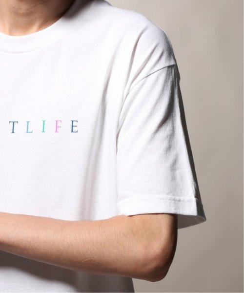 JOURNAL STANDARD relume Men's(ジャーナルスタンダード レリューム メンズ)/THE QUIET LIFE ザ クワイエットライフ  RAINBOW  Tシャツ/19071465010230_img08