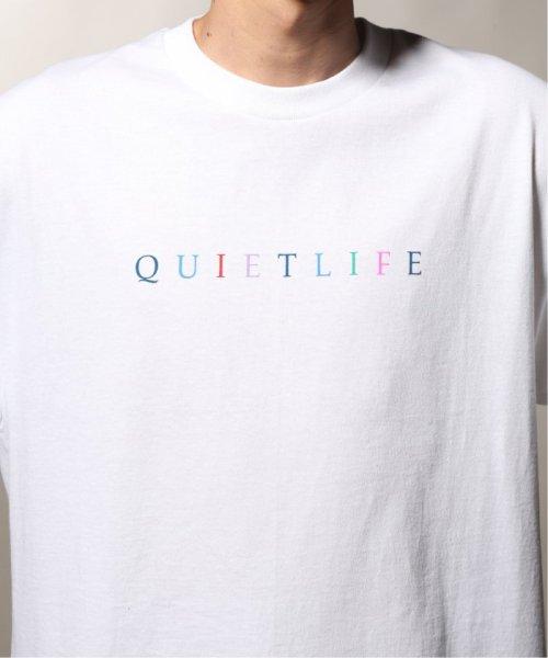 JOURNAL STANDARD relume Men's(ジャーナルスタンダード レリューム メンズ)/THE QUIET LIFE ザ クワイエットライフ  RAINBOW  Tシャツ/19071465010230_img09