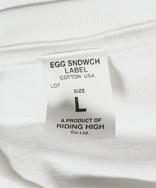 JOURNAL STANDARD(ジャーナルスタンダード)/EGG SNDWCH LABEL BY DOODLES×RIDINGHIGH for HS Tシャツ/19071610001530_img23
