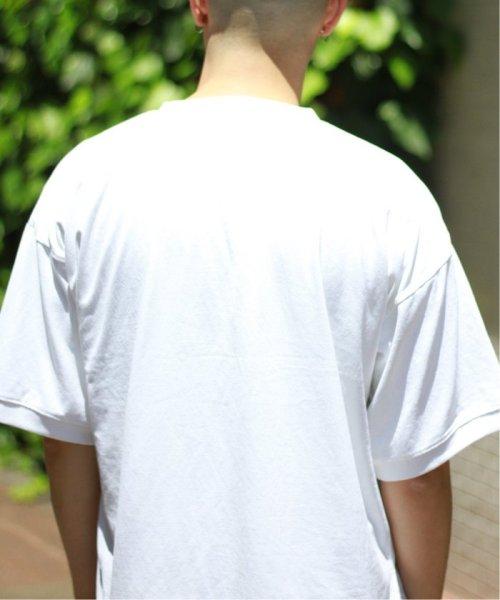 JOURNAL STANDARD relume Men's(ジャーナルスタンダード レリューム メンズ)/《追加》policott 樽型オーバーサイズTシャツ/19071464608030_img21