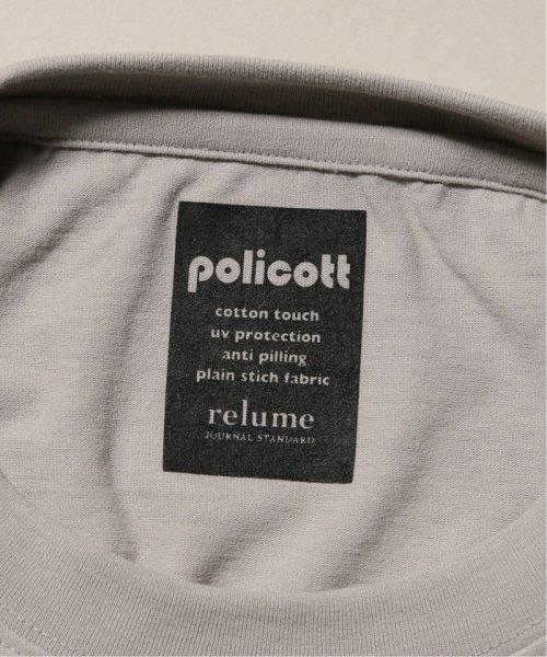 JOURNAL STANDARD relume Men's(ジャーナルスタンダード レリューム メンズ)/《追加》policott 樽型オーバーサイズTシャツ/19071464608030_img36