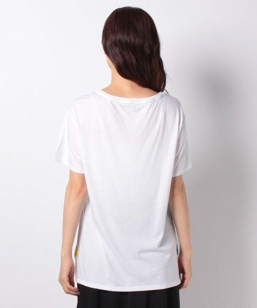 BENETTON (women)(ベネトン(レディース))/マルチカラーロゴサイドスリットポイントTシャツ・カットソー/19A3P1ZE15A0_img08