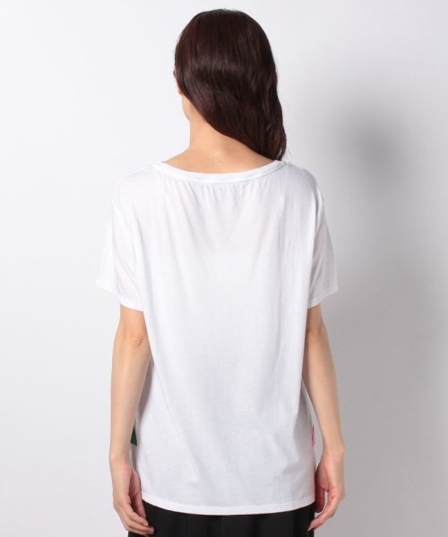BENETTON (women)(ベネトン(レディース))/マルチカラーロゴサイドスリットポイントTシャツ・カットソー/19A3P1ZE15A0_img18