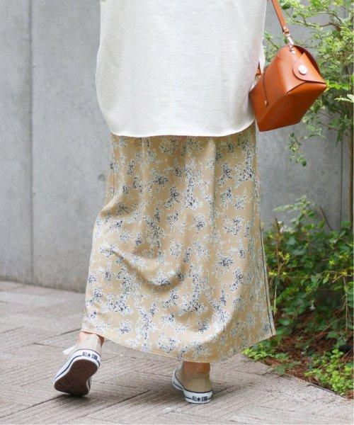 JOURNAL STANDARD relume(ジャーナルスタンダード レリューム)/ウォッシャブルフラワープリントラインスカート◆/19060462500030_img15
