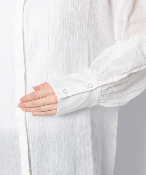 KOBE LETTUCE(神戸レタス)/【田中亜希子さんコラボ】ハイネックガーゼシャツチュニック/C3644_img05