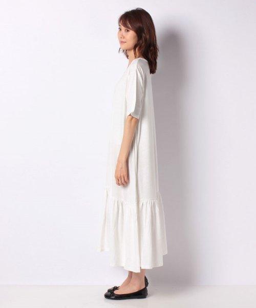 KOBE LETTUCE(神戸レタス)/裾ティアード半袖カットソーワンピース/E2083_img01