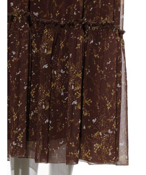 Mila Owen(ミラオーウェン)/ウエストシャーリングノースリーブ花柄ワンピース/09WFO194114_img08