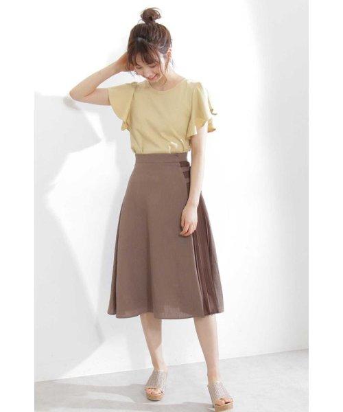 PROPORTION BODY DRESSING(プロポーション ボディドレッシング)/ラッフルスリーブデザインカットソー/1219260700_img10