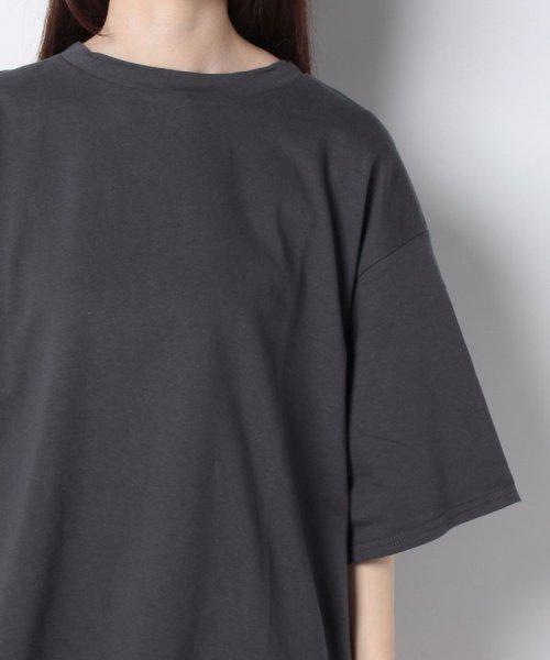 GeeRa(ジーラ)/綿100%ビッグシルエットTシャツ     /204403_img11