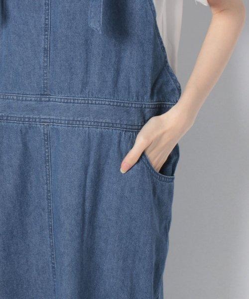 GeeRa(ジーラ)/綿100%サロペットスカート        /204438_img11