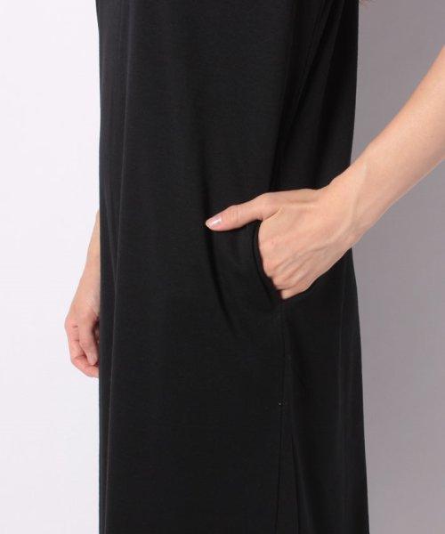 GeeRa(ジーラ)/ポケット付カットソーロングワンピース    /204625_img09