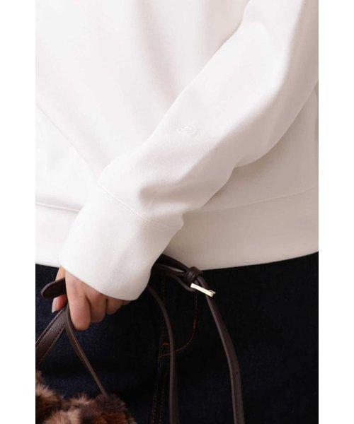 PROPORTION BODY DRESSING(プロポーション ボディドレッシング)/シルキーポンチシンプルクルーネック/1219260900_img03