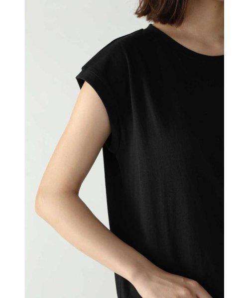 ROSE BUD(ローズバッド)/アシメトリースカーフプリント柄Tシャツ/6019213020_img07