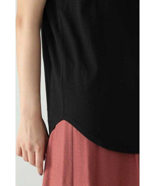 ROSE BUD(ローズバッド)/アシメトリースカーフプリント柄Tシャツ/6019213020_img08