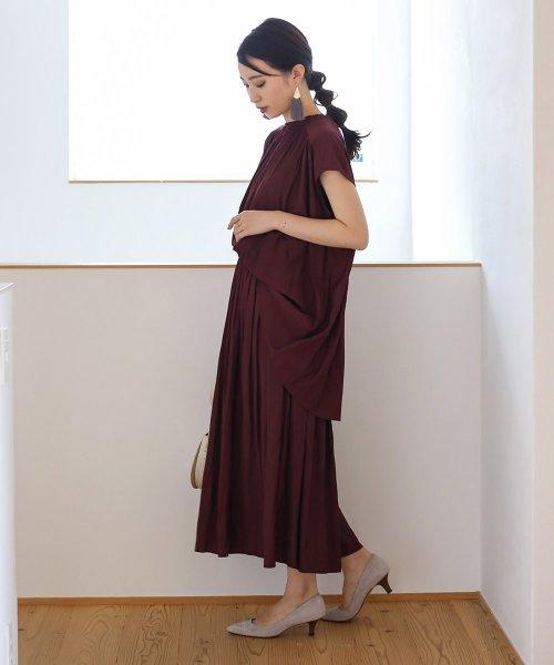 Bou Jeloud(ブージュルード)/【セットアップ対応商品】気流染めマットサテンスカート/593974_img07