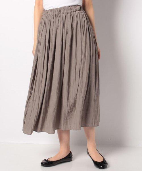 Bou Jeloud(ブージュルード)/【セットアップ対応商品】気流染めマットサテンスカート/593974_img20