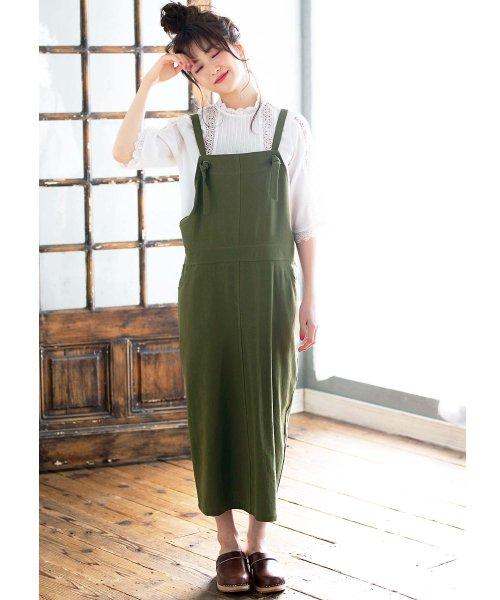 GeeRa(ジーラ)/綿100%サロペットスカート        /204438_img03