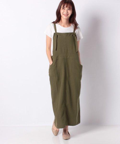 GeeRa(ジーラ)/綿100%サロペットスカート        /204438_img13