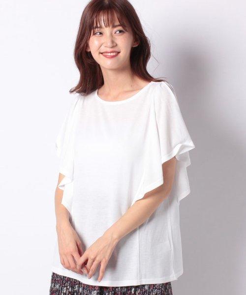 GeeRa(ジーラ)/ひんやり涼感素材フレアー袖トップス     /204636_img11