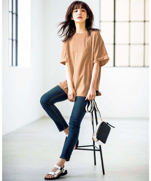 GeeRa(ジーラ)/綿100%ビッグシルエットTシャツ     /204403_img05