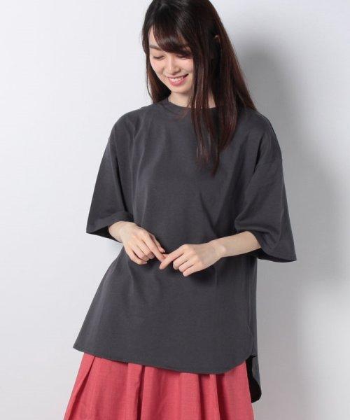 GeeRa(ジーラ)/綿100%ビッグシルエットTシャツ     /204403_img13