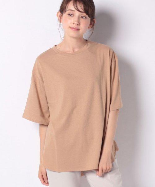 GeeRa(ジーラ)/綿100%ビッグシルエットTシャツ     /204403_img16