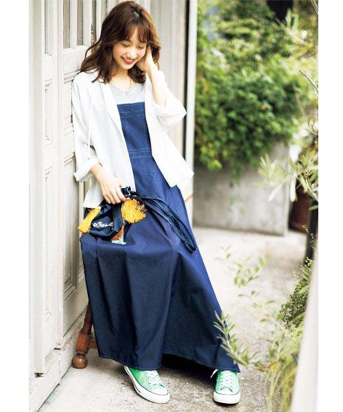 GeeRa(ジーラ)/サロペットデザインジャンパースカート    /204558_img03