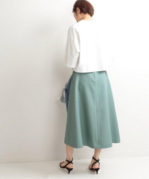 IENA(イエナ)/TAボンディングタックトラペーズスカート◆/19060900594010_img47
